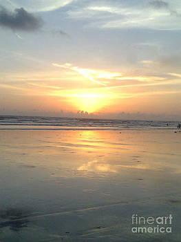 Amazing sky at seashore  by Bgi Gadgil