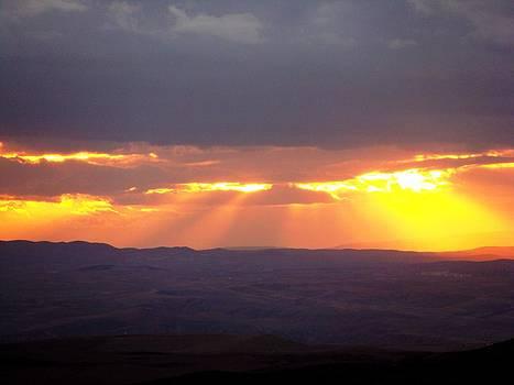 Amazing Sunset by Faouzi Taleb