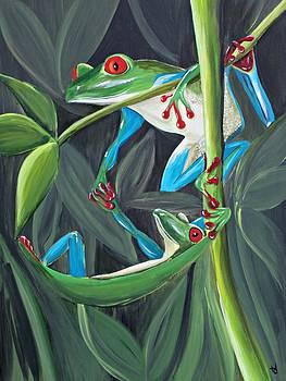 Ambassador Frog by Tracie Davis