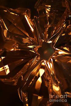 Linda Knorr Shafer - Amber Crystal Snowflake