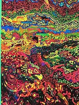 American Abstract by Jonathon Hansen