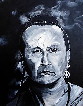 American Indian by Anthony Morales
