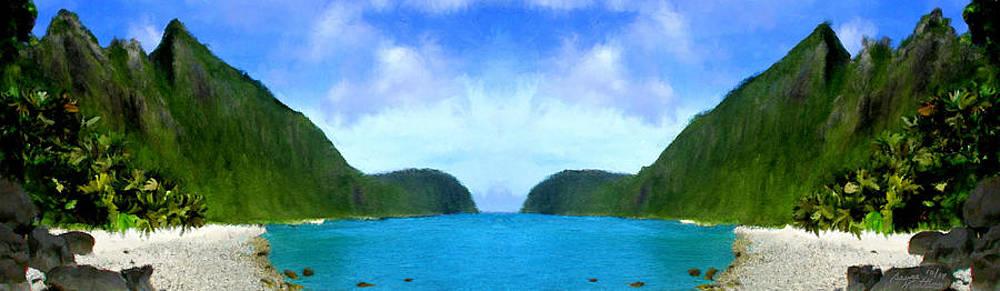 American Samoa Bay by Bruce Nutting