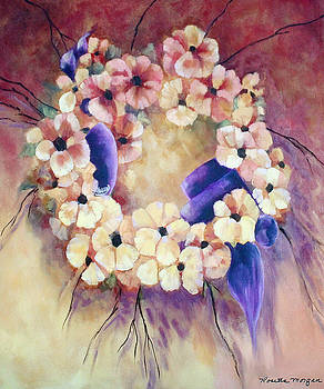 Amish Welcome Wreath  by Rosie Morgan