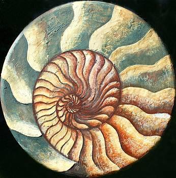 Ammonite by Kristine Mueller Griffith