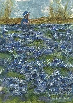 Among the Blue Bonnets by Lynn Babineau