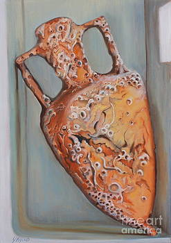 Amphora by Yvonne Ayoub