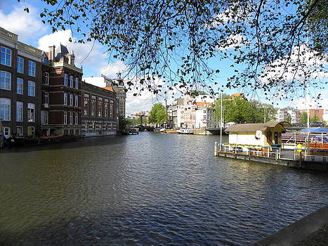 Amstel River - Amsterdam by Alberto Pala