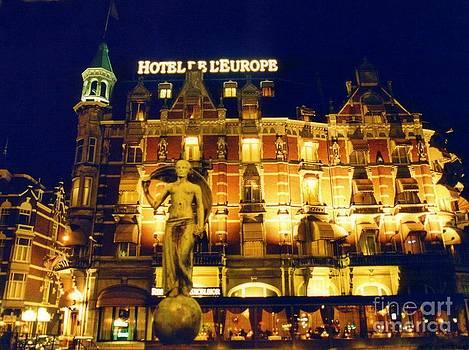 John Malone - Amsterdam Hotel at Night