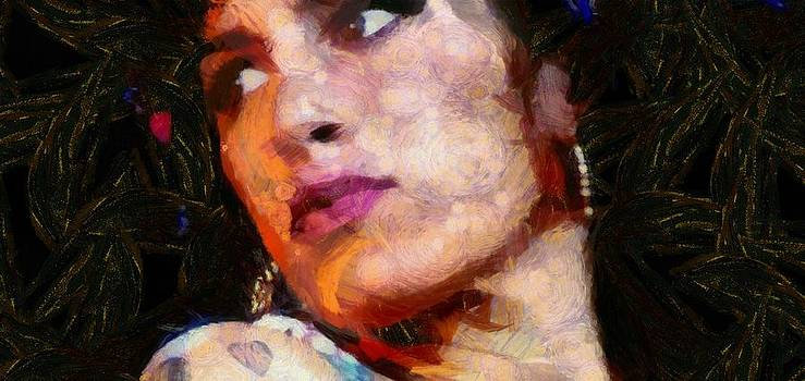 Amy Looking Back by Carol Sullivan