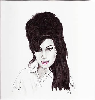 Amy Winehouse by Martin Howard