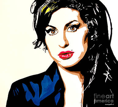 Amy Winehouse by Nancy Mergybrower