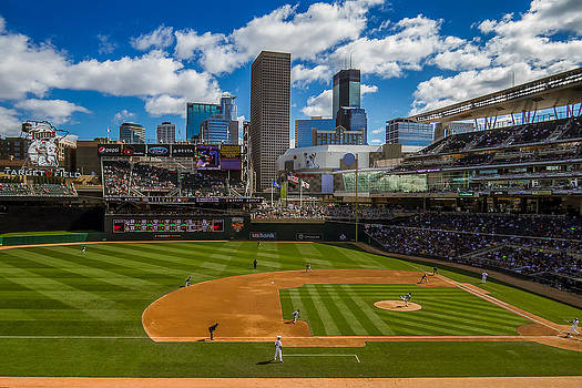 An Afternoon at Target Field by Tom Gort