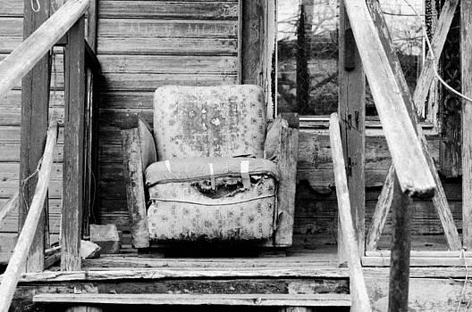 An Old Armchair by Kirill Puchkov