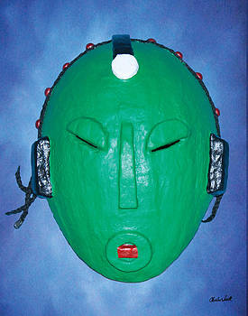 Anawe Mask by Charles Smith