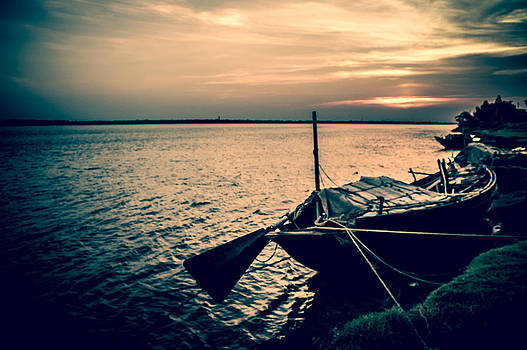 Anchored and Floating by Debjyoti Ganguly
