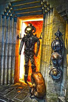 Ancient Atlantean Underwater Breathing Suit 2011 by Timothy Lowry