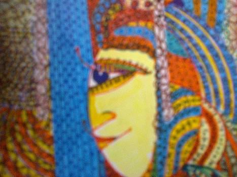 Ancient Lady by Lavanaya raman Rameshkumar