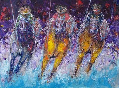 Ancient Oromo warriors. by Samuel Daffa