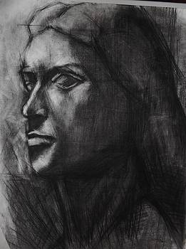 Ancient Sculpture drawing by Annamaria Shkurti