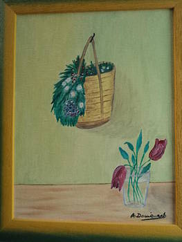 And Flower Basket by Artur Domenech
