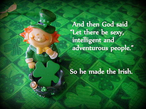 And God Made the Irish by Suzanne DeGeorge