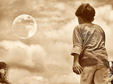 And The Kid Found The Moon by Beto Machado