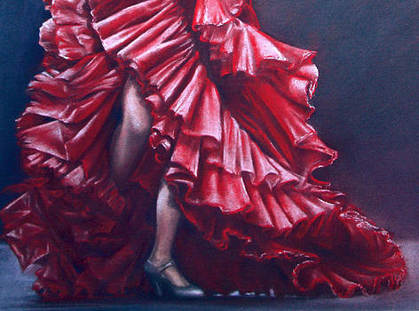 Andalucia Flamenco by Rosemary Colyer