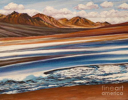 Andes Mountains ONE by Gayle Utter