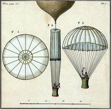 Science Source - Andre jacques Garnerins Parachute 1797