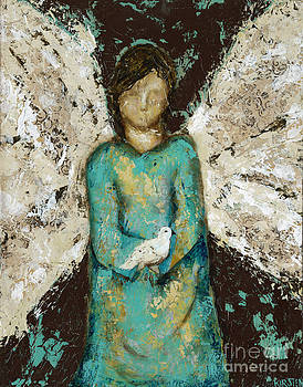Angel  and  Dove by Kirsten Reed