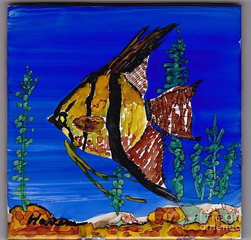 Angel Fish by Robert  ARTSYBOB Havens