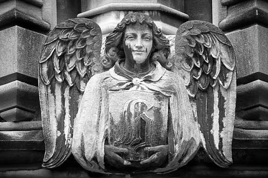Angel Gargoyle University of Chicago by Joseph Duba