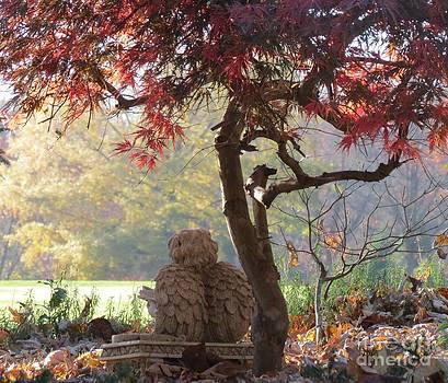 Angel in Autumn by Anita Adams