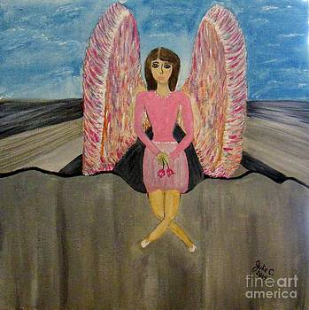 Angel in Waiting by Julie Crisan