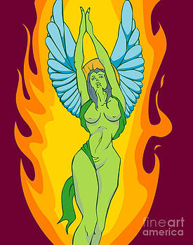 Angel of Fire by Patrick Collins