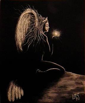 Angel of Light II by Lisbeth M Sandvik
