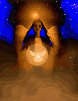 Angel Of Peace by Robert Foster