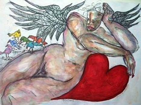 Angel of Serenity by Suzanne Macdonald