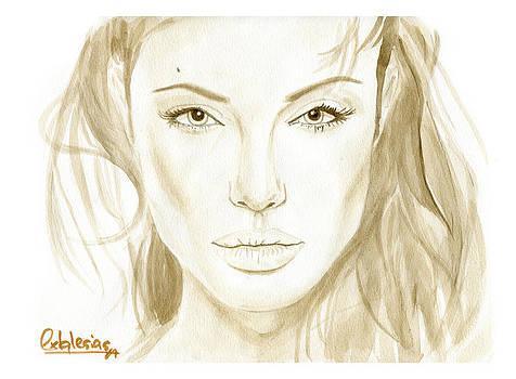 Angelina Jolie by David Iglesias