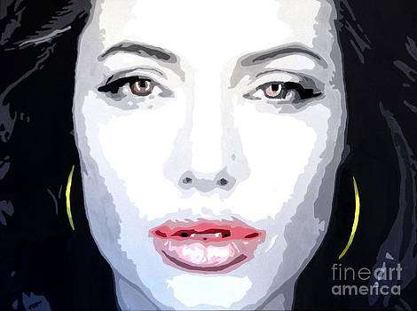 Angeline Jolie by Hussein El Kaissy