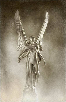 Angel's Kiss by Ron Morecraft