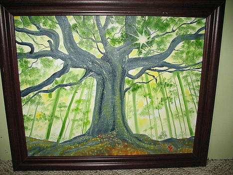 Angie's Tree by Kathy Livermore