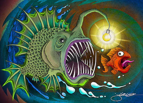 Angler Fish by Julie Oakes