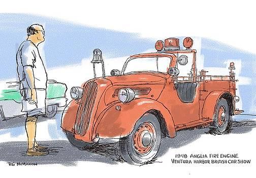 RG McMahon - Anglia Fire Engine