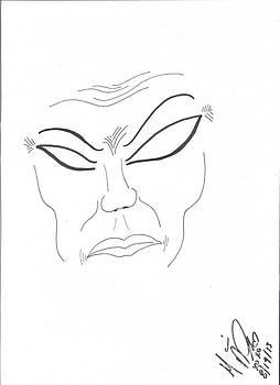 Angry Asian by Marie De Garo