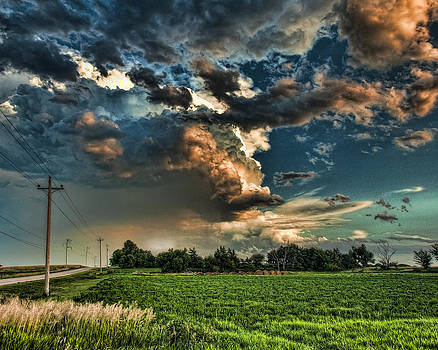 Angry Clouds by Kerri Garrison
