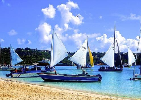 Jennifer Lamanca Kaufman - Anguilla boat race