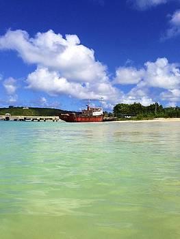 Jennifer Lamanca Kaufman - Anguilla Mr. Teds Boat