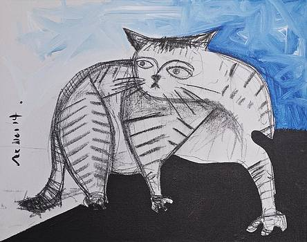 Mark M  Mellon - ANIMALIA  Feles No. 13